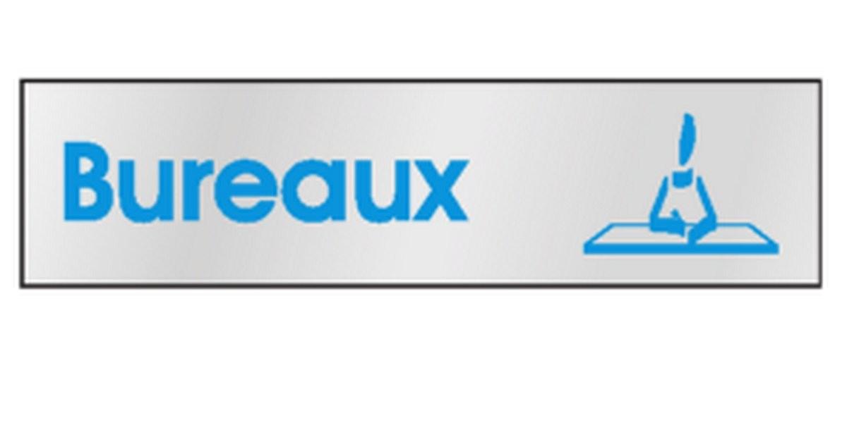 Plaque de porte Bureaux