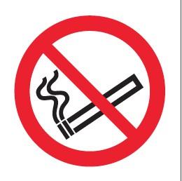 Défense de Fumer Picto Etiquettes
