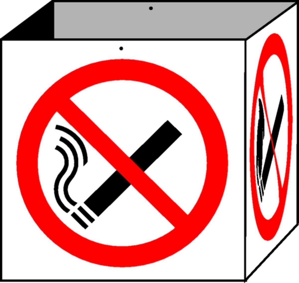 Cube Défense de Fumer