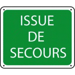 Panneau Issue de Secours