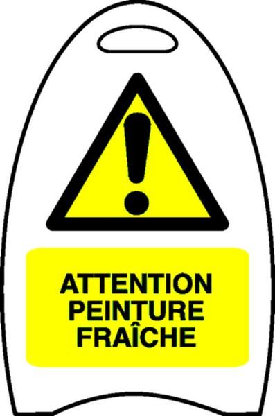 Chevalet Attention peinture fraîche