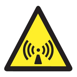 Radiations non ionisantes Picto Etiquettes