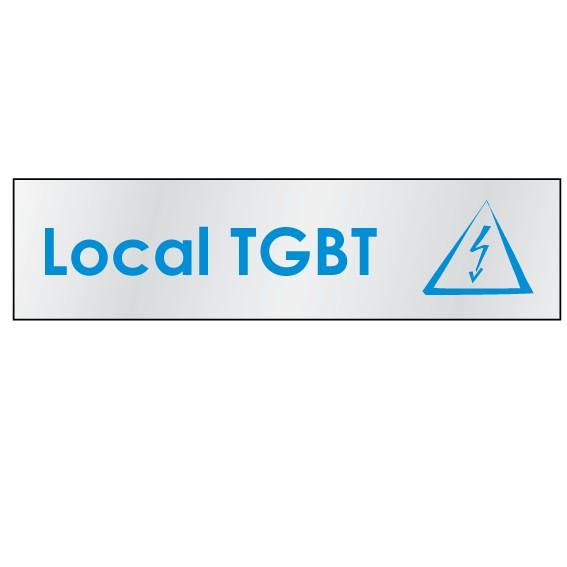 Plaque Local TGBT