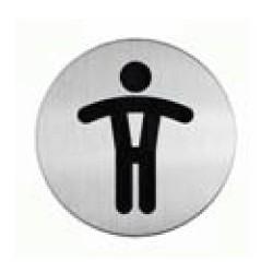Panneau Toilettes Hommes Picto