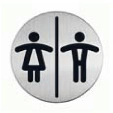 Panneau Toilettes Hommes / Femmes Picto