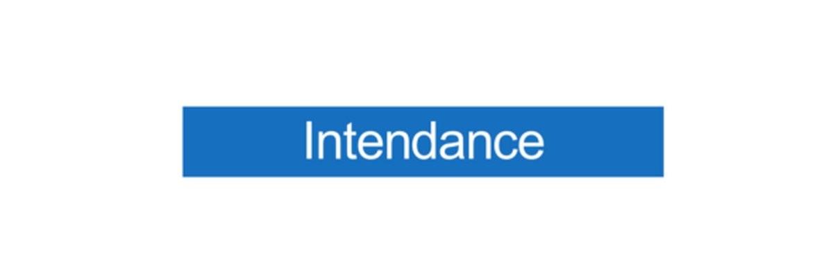 Panneau Intendance