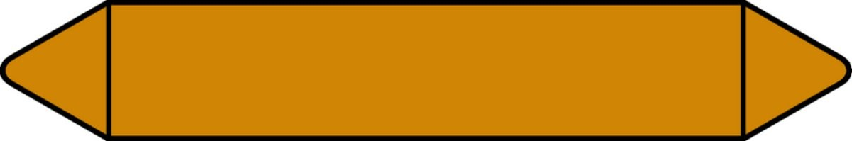 Pictogramme Etiquettes de tuyauterie Gaz