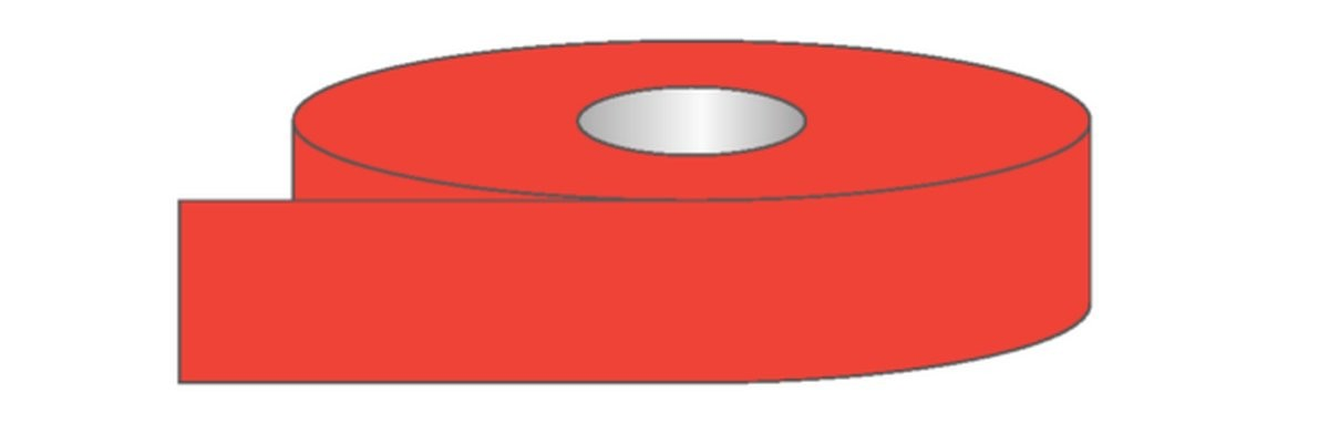 Rouleau adhésif Fluo - Plusieurs coloris