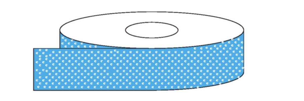 Bande autocollante Antidérapant Bleu