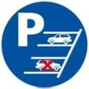 Parking en marche arrière obligatoire Ø300mm