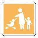 Panneau Parking Famille Picto