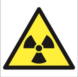 Matières Radioactives Picto Etiquettes
