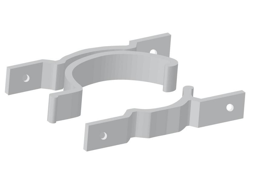 Panneau Collier de fixation double (PUBLIC)