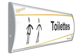 Plaque de porte Gamme Signum