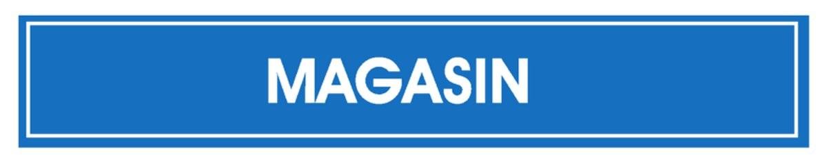 Panneau Magasin