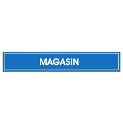 Panneau Magasin (sur poteau)