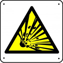 Matières Explosives Picto