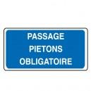 Passage Piétons Obligatoire Vinyl Sol