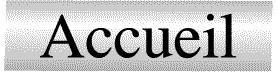 Panneau Accueil (Inox)