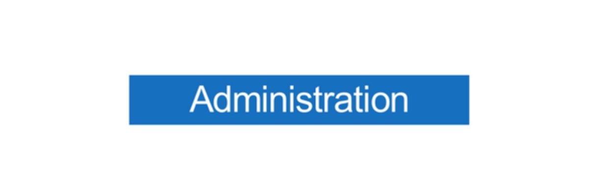 Panneau Administration