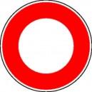 Accès interdit à tous véhicules Classe 1 Ø450 mm