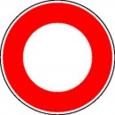 Accès interdit à tous véhicules Classe 2 Ø450 mm