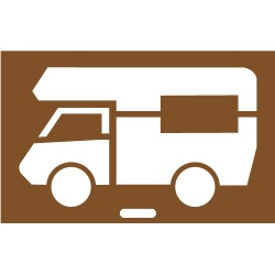 Camping Car Pochoir