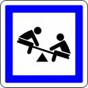 Pictogramme Aire de jeux d'enfants
