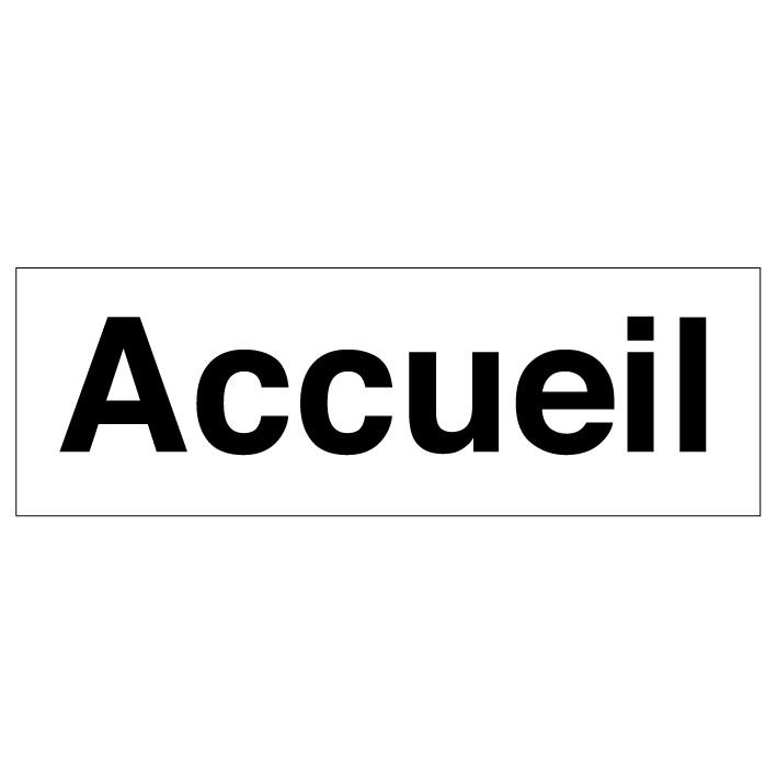 Panneau Accueil