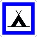Pictogramme Camping