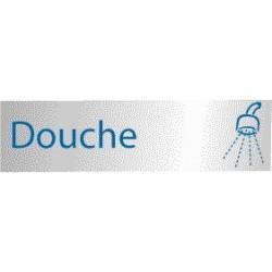 Plaque de porte Douche