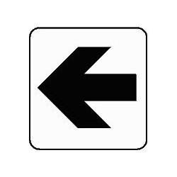 Panneau Flèche de direction