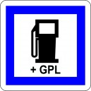 Pictogramme Carburant + GPL