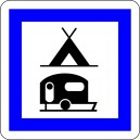 Pictogramme Camping y compris camping cars
