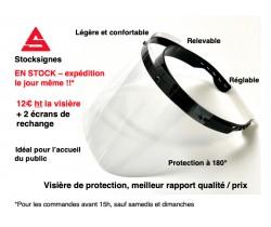 Visière de protection COVID 19