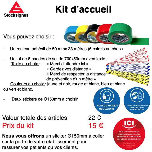 Kit Accueil