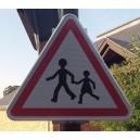 Panneau Attention enfants Classe 1