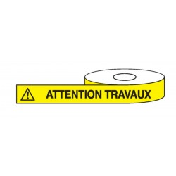 Ruban Attention Travaux