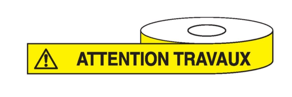 Ruban Attention Travaux