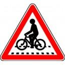 Attention vélos Classe 1 500mm
