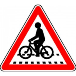 Panneau Cyclistes Classe 1