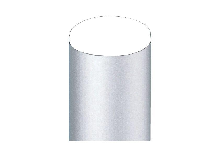Poteau Aluminium Ø76mm