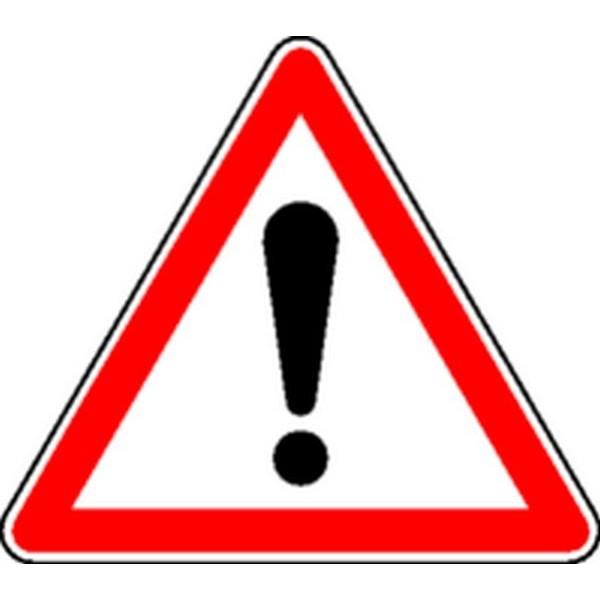 Panneau Danger Classe 1 Stocksignes