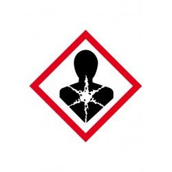Etiquette Risques mutagènes Vinyle