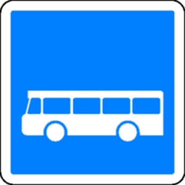 Panneau Arrêt d'Autobus Classe 1