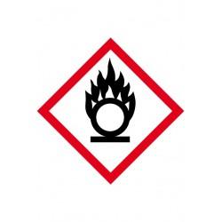 Etiquette Matières Comburantes Velin adhésif