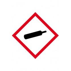 Etiquette Matières gazeuses Vinyle adhésif