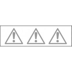 Pictogramme Bande Cristal Danger