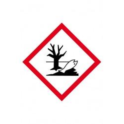 Etiquette Danger pour le Milieu Aquatique Velin adhésif