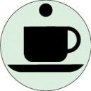 Café...Gamme Sablée Ø120mm